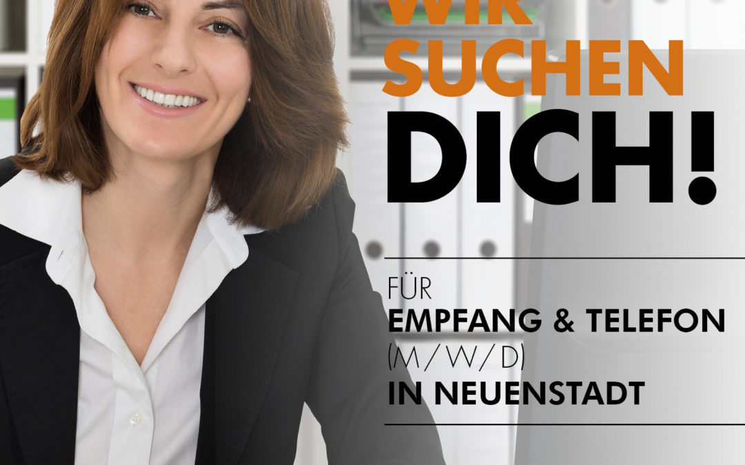 Mitarbeiter für Empfang und Telefonzentrale (m/w/d) in Neuenstadt a. K.